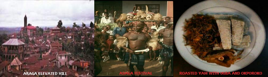 Asaga town is a famous town in Ohafia local government area in Abia state south-eastern Nigeria that was founded by Ukpai Ezema Atita (Okwara). The town is one